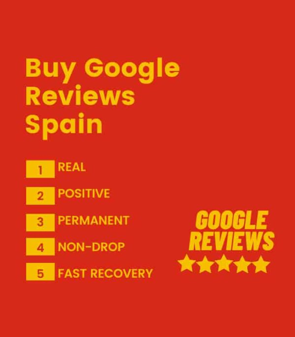 Buy google review spain