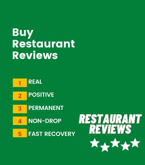 Buy restaurant review